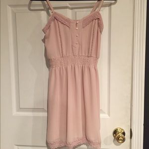 Urban outfitters kimchi blue pink dress.